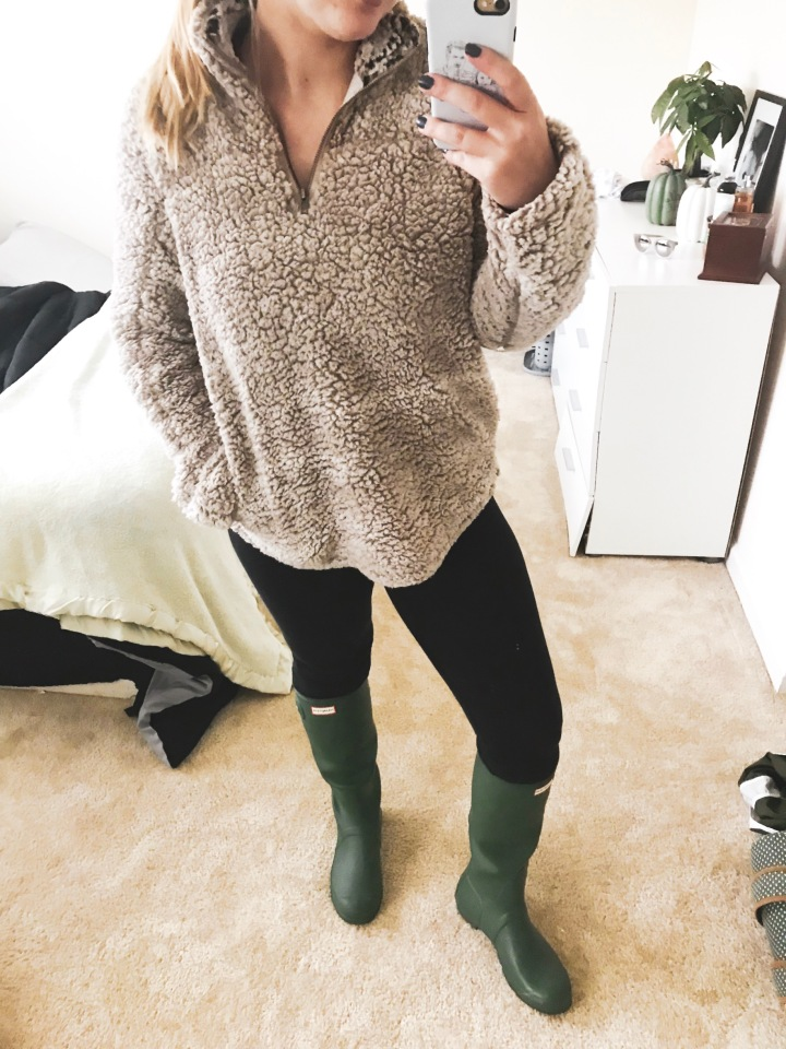 Shop My Look: Cozy Rainy Fall Day Outfit