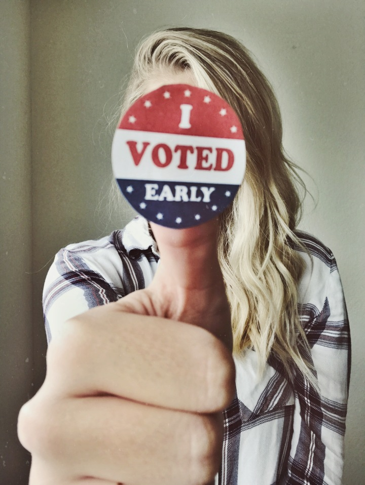 """Millennial"" Election Day Pep Talk + Resources"