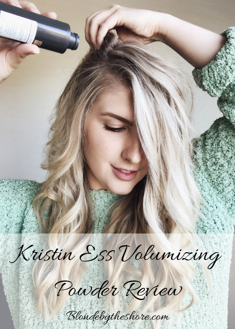 Kristin Ess Working Texture Loose Styling Powder Review + Instagram Giveaway