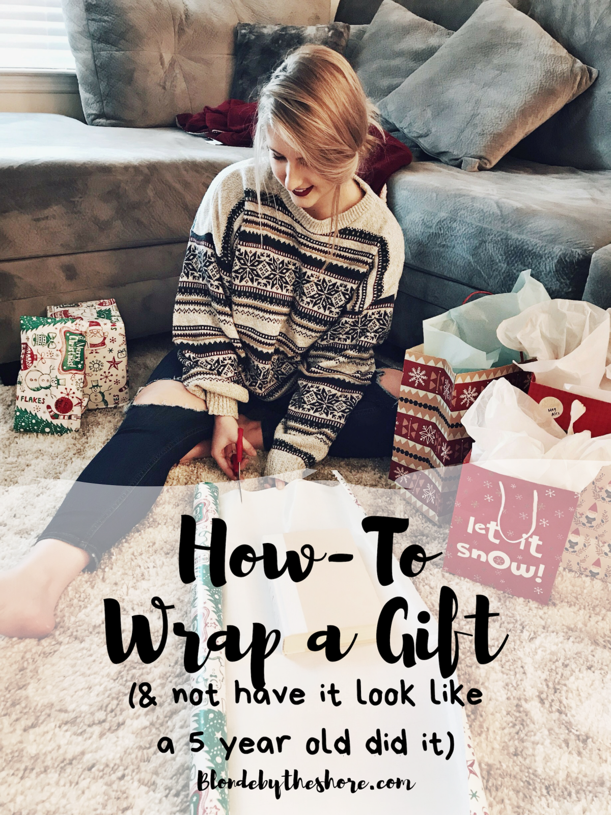 12 Days of DIY Christmas- Day 5: How-To Wrap a Gift