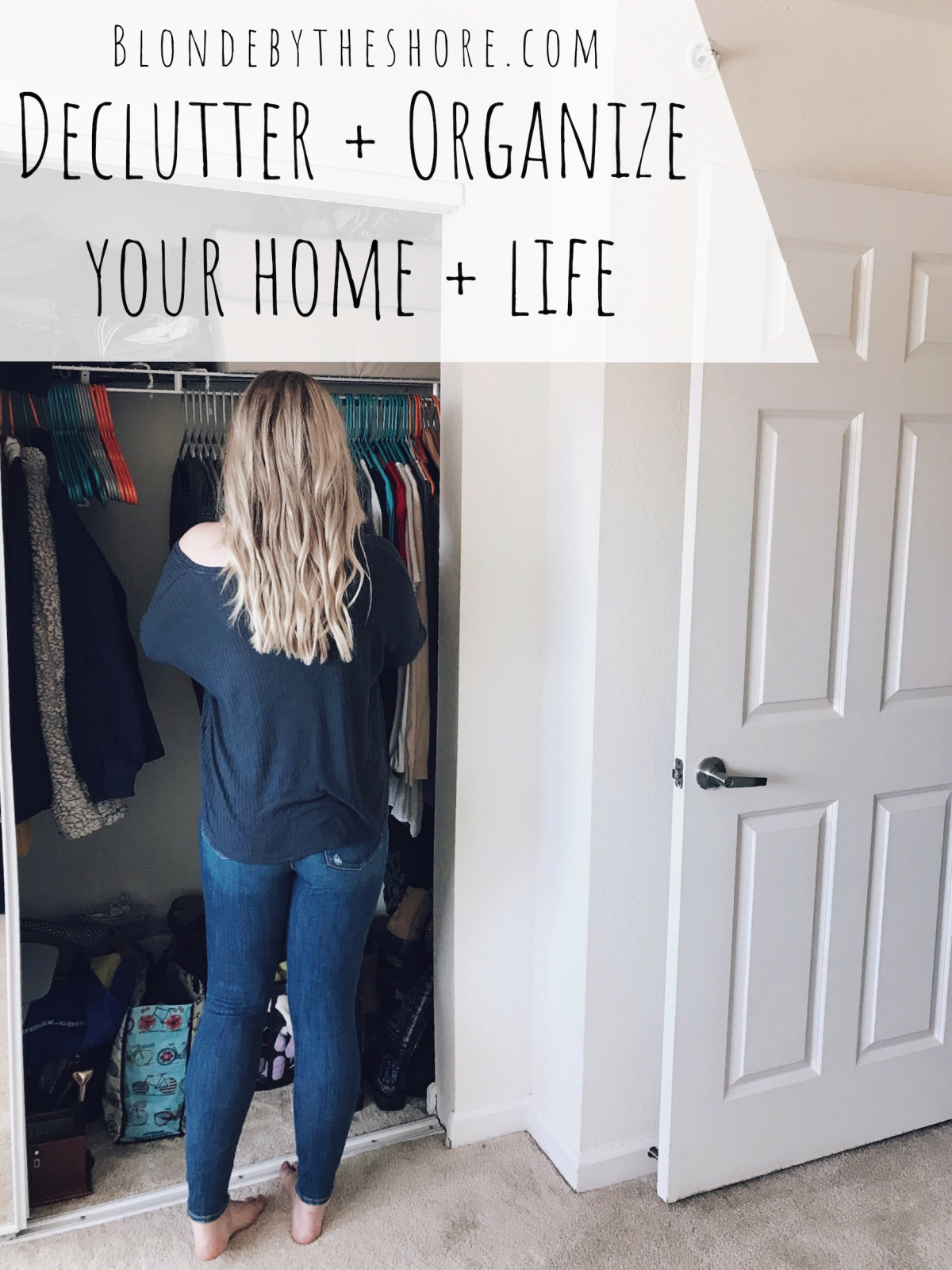 Declutter + Organizing Tips